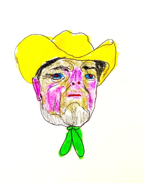 cowboy dream print