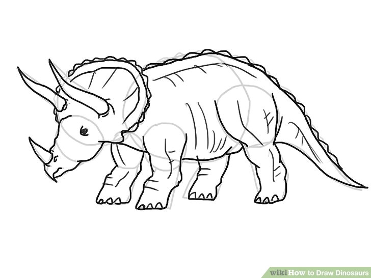 image titled draw dinosaurs step 21