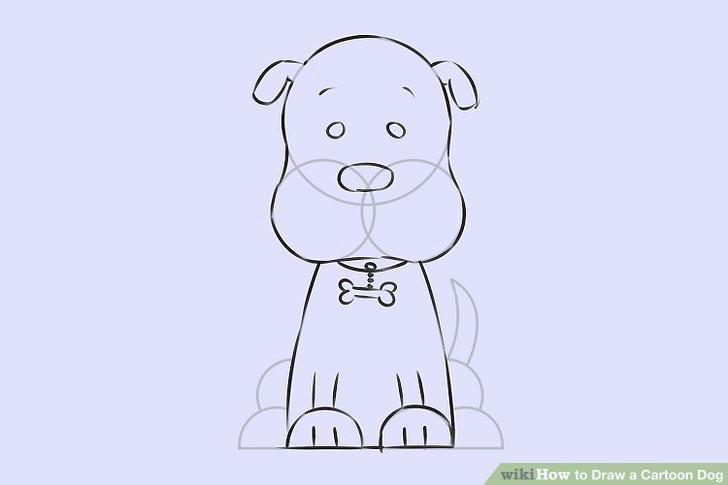 image titled draw a cartoon dog step 7