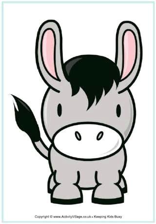Drawing A Cartoon Donkey Cute Donkey Cartoon Google Search Cute Donkey Drawings Cartoon