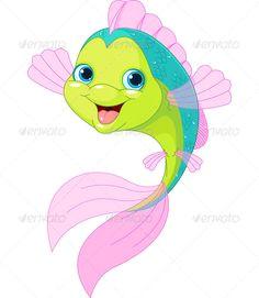 cartoon fish animals characters baby cartoon characters cartoon fish cute cartoon fish