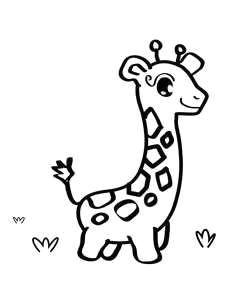 Drawing A Cartoon Giraffe 2785 Best Cartoon Drawings Images In 2019 Kid Drawings Cartoon