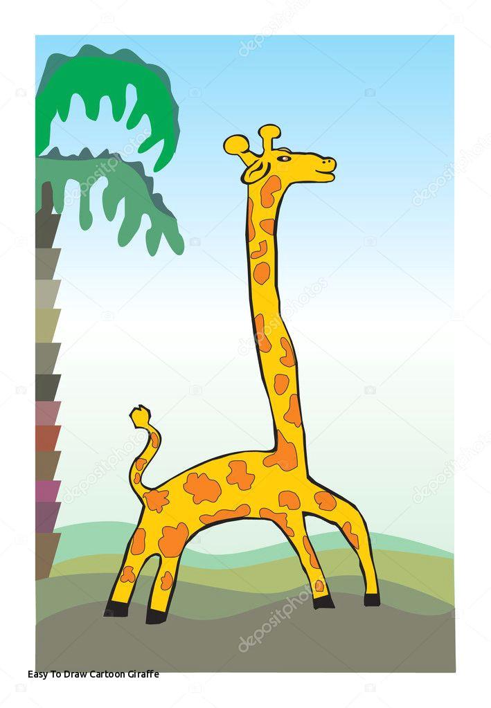 easy to draw cartoon giraffe giraffe children s drawing stock a c rimmagraf1 of easy to