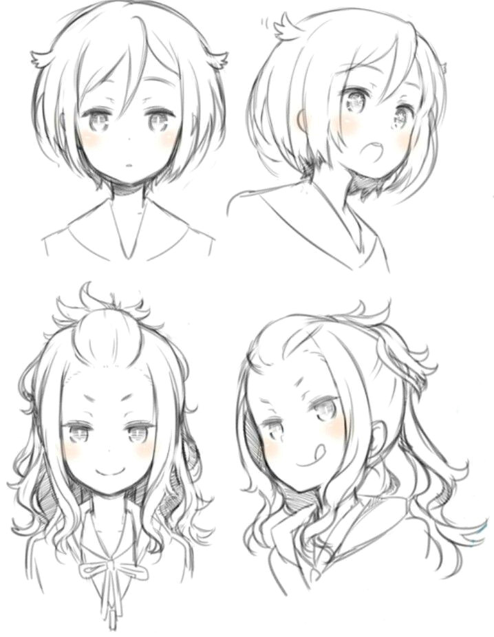 hair styles anime hair styles drawing hair style sketches anime hair drawing