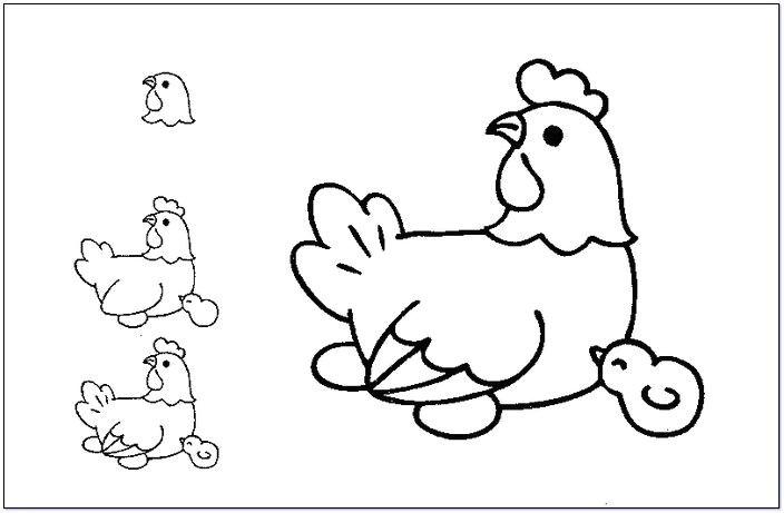 easy to draw cartoon farm animals