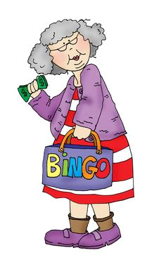 bingo granny free dearie dolls digi stamps