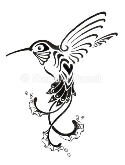 black and white hummingbird tattoo google search