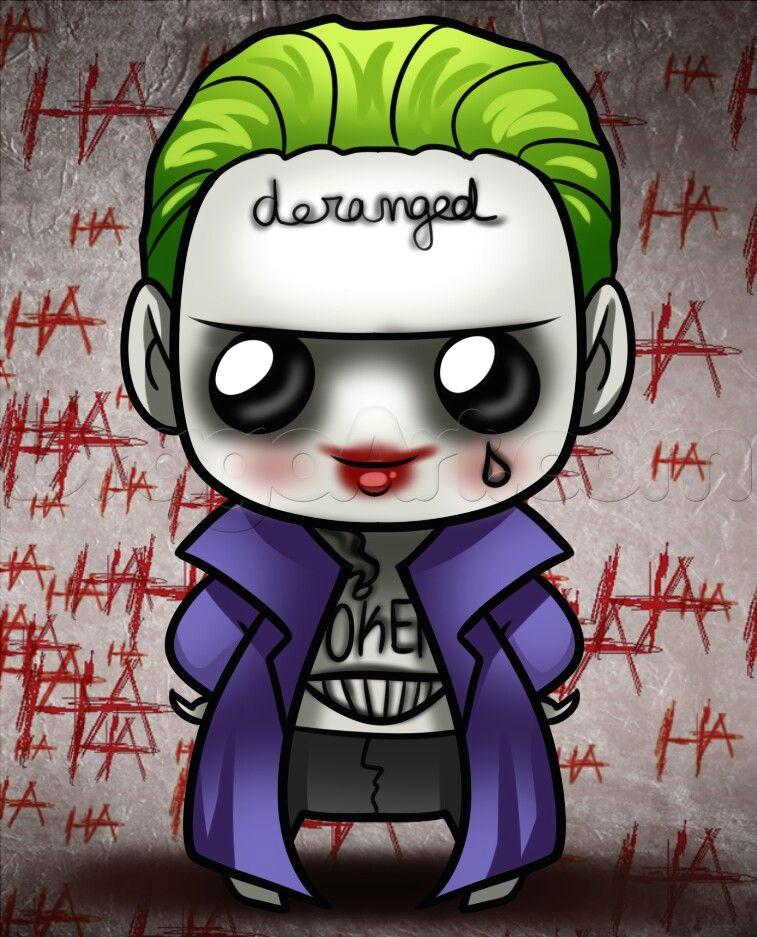joker kawaii joker drawings kawaii drawings chibi marvel marvel dc comics