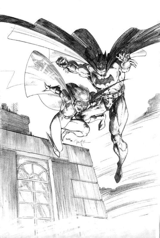 batman the dark knight returns comic art