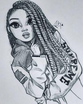 a pinterest irissisabela cute drawings of girls girl drawings black girls