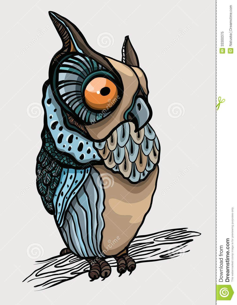 cartoon owl royalty free stock photo image 33300375