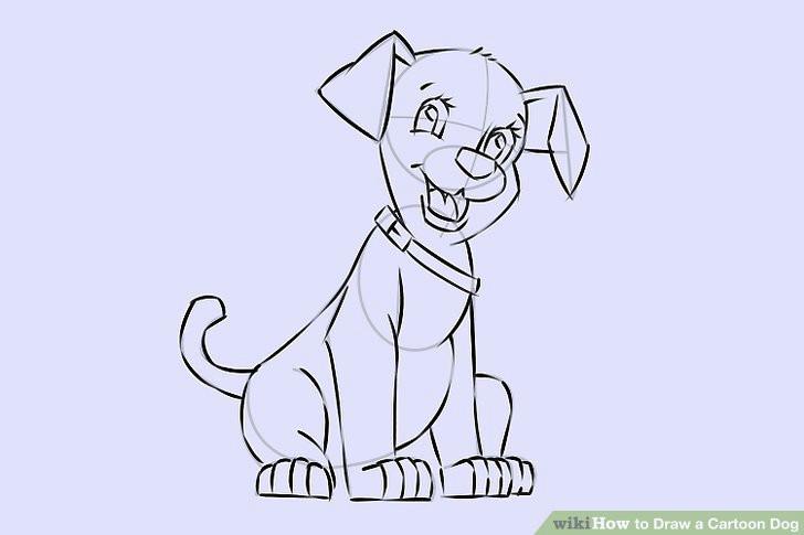 image titled draw a cartoon dog step 23