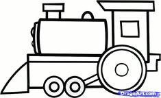 cartoon train how to draw a cartoon train step by step trains