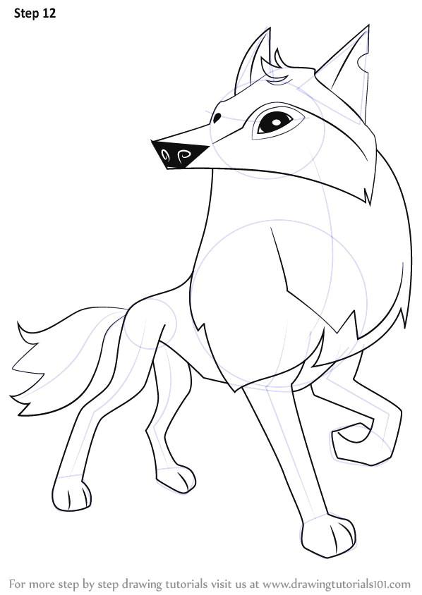 how to draw a easy wolf face owl cartoon set od cute