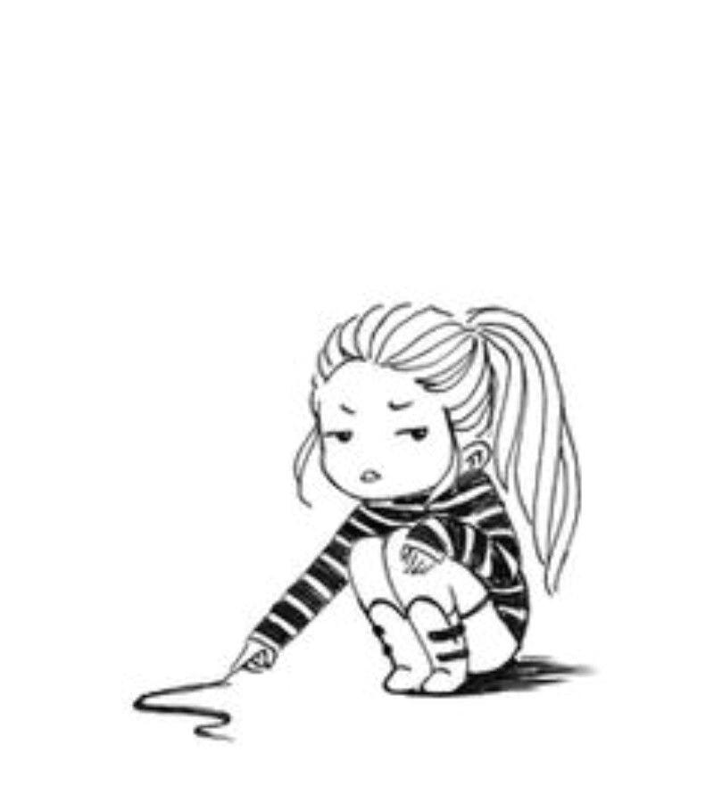 ligne claire ink pen drawings girl drawings cute drawings simple cartoon drawings