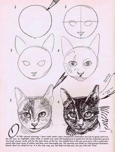 how to draw cats ps soooo cute