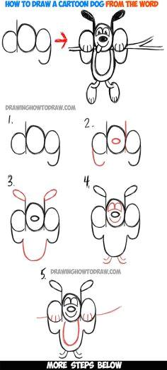 easy to draw cartoons