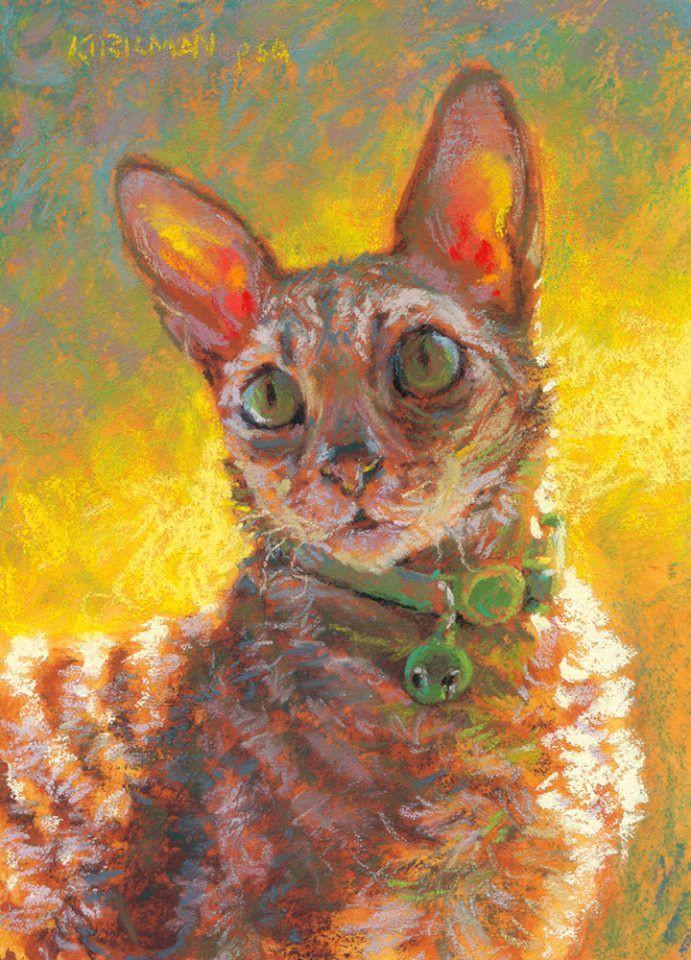 rita kirkman mewler kitty pastel
