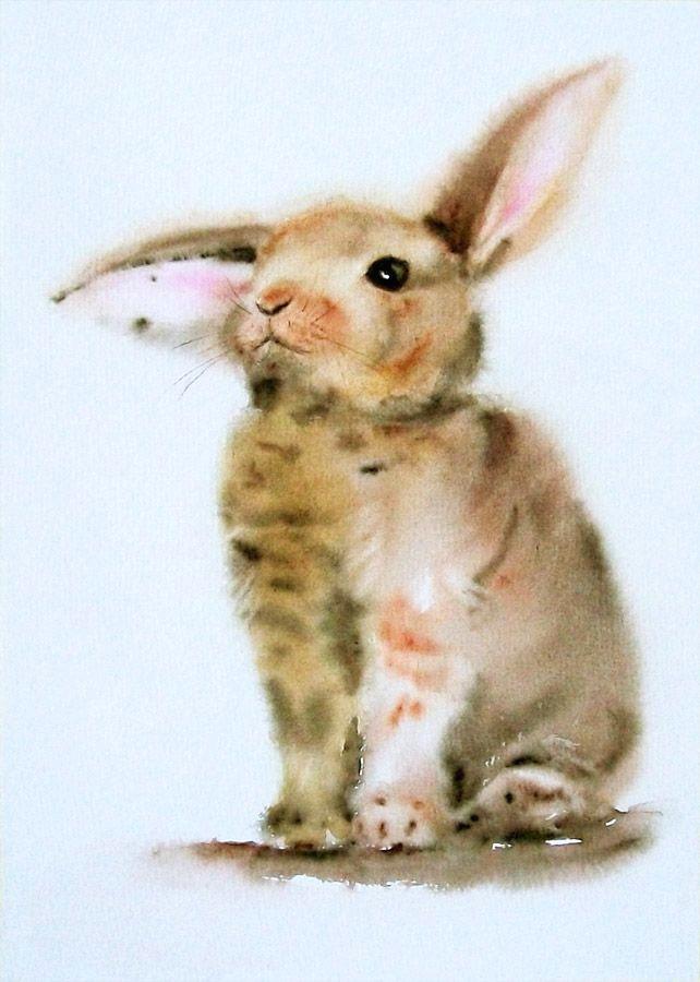 sad rabbit adorable bunny by stokrotas on deviantart