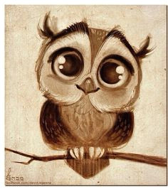 owl drawing this is so sweet it reminds me of my mother s drawings cute