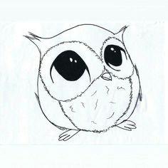 hedgehog drawing cute owl drawing pretty drawings cartoon owl drawing simple owl