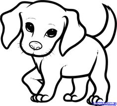 how you draw a cute dog how to draw a beagle puppy beagle puppy step by step pets animals
