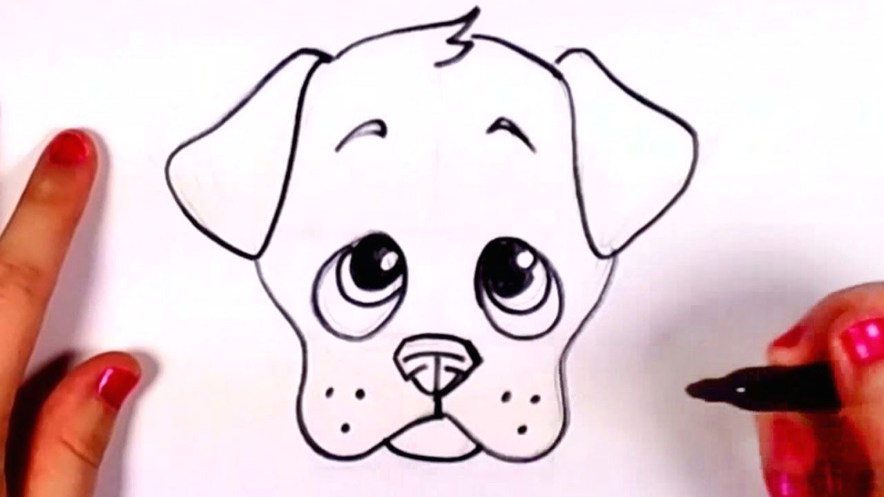 Drawing A Dog Man with No Arms Draw A Dog Face Doodles Drawings Puppy Drawing Easy Drawings