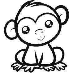 e monkey sticker