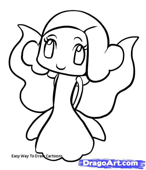 easy way to draw cartoons princess drawing easy at getdrawings of easy way to draw cartoons