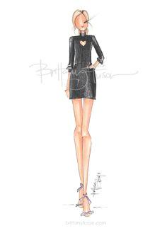 little heart doll drawing fashion sketches fashion illustrations artist fashion fashion art
