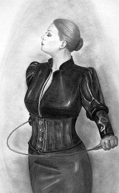 unterwerfung devot damen bilder weibliche vorherrschaft zeichnung einer frau domina
