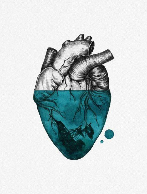 through the ice pirate heart tattoo human heart tattoo sunken ship tattoo heart