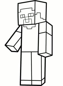how to draw steve from minecraft step by step instructions to draw steve from minecraft
