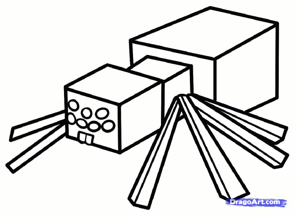 48 beautiful minecraft coloring page