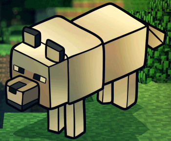 how to draw a minecraft wolf step by step video game characters pop culture free online drawing tutorial added by dawn march 27 2013 5 20 12 pm
