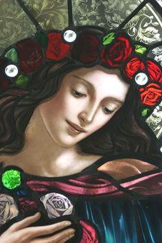 mystic rose blessed mother sacred feminine divine feminine catholic saints blessed mother