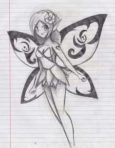 pencil fairy by ninjazombie5692 d51no11 jpg 789a 1013 fairy drawings mermaid drawings