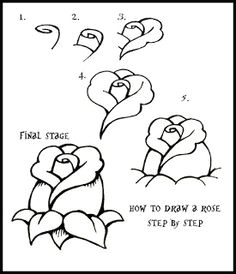 daryl hobson artwork how to draw a rose step by step guide doodle drawings