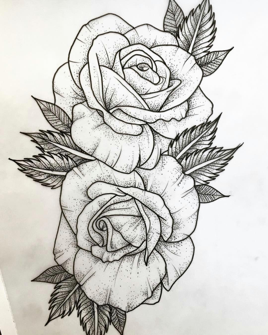 available tattooapprentice tattooapprenticeuk dotwork dotworktattoo tattoo drawings rose drawing tattoo
