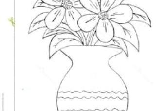 pencil art make flower pot flower vase pencil drawing vases neurostish neurostisi 0d