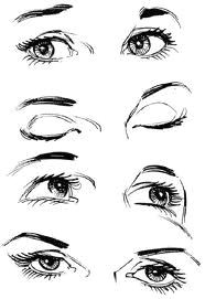 Drawing A Set Of Eyes Closed Eyes Drawing Google Search Don T Look Back You Re Not