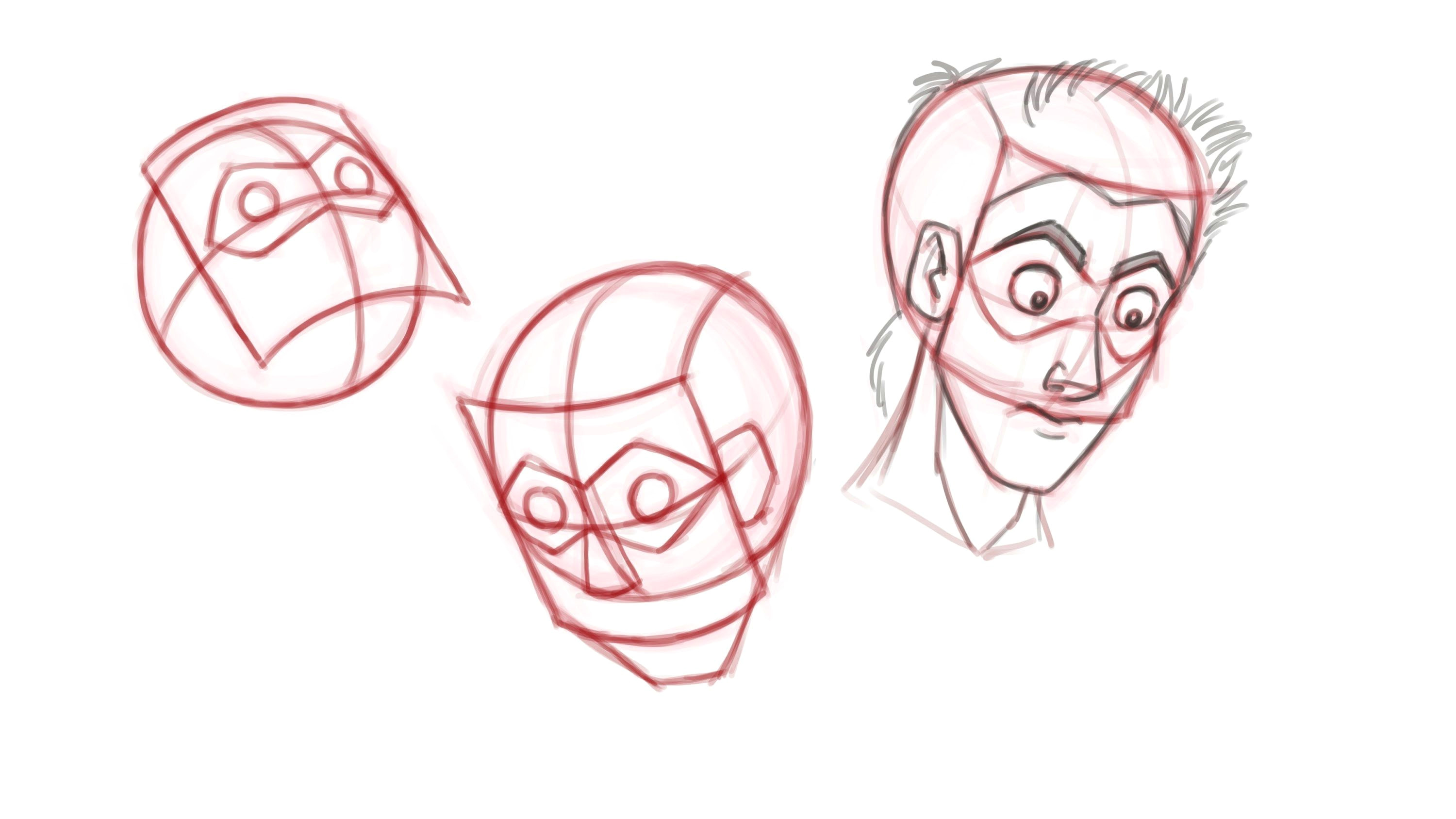 drawn animation tutorial how to animate heads drawing faces from e