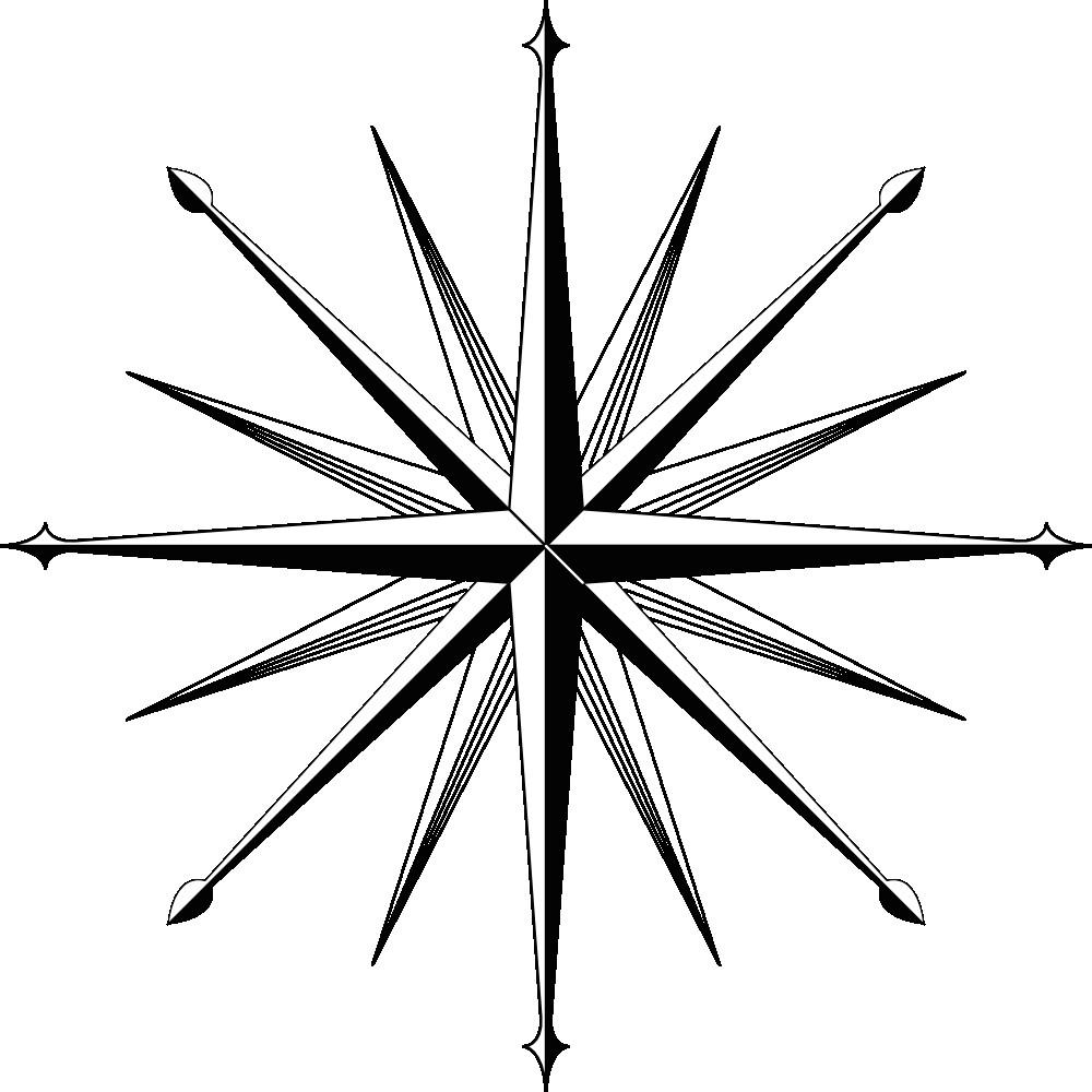 onlinelabels clip art wind rose compass rose