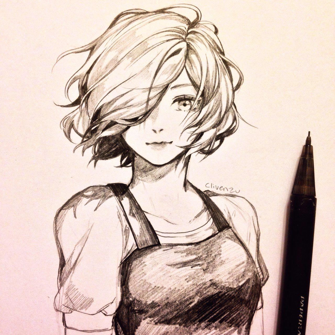 beautiful girl sketch pretty girl drawing beautiful anime art manga anime art