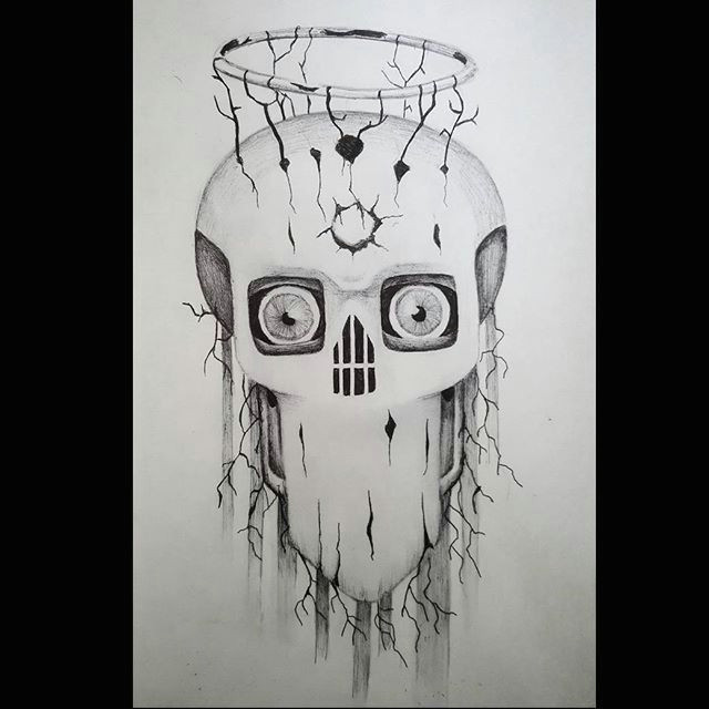 surrealist eye demon drawings artsy pendrawing illustration drawingart