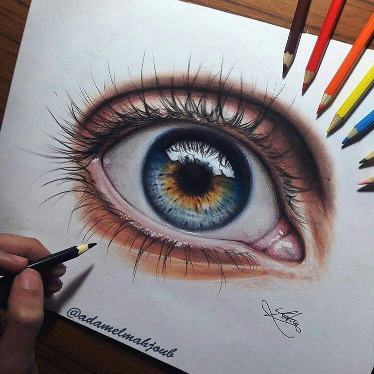 cool eye drawings cool sketches sketch art pencil drawings art drawings drawing sketches eye painting eye art art techniques colorful drawings