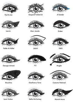 designer eye makeup tips