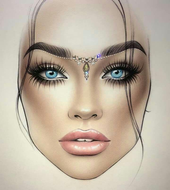 makeup face charts face makeup makeup drawing mac face charts creative makeup