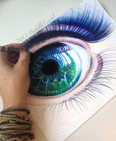 crayola ocean iris