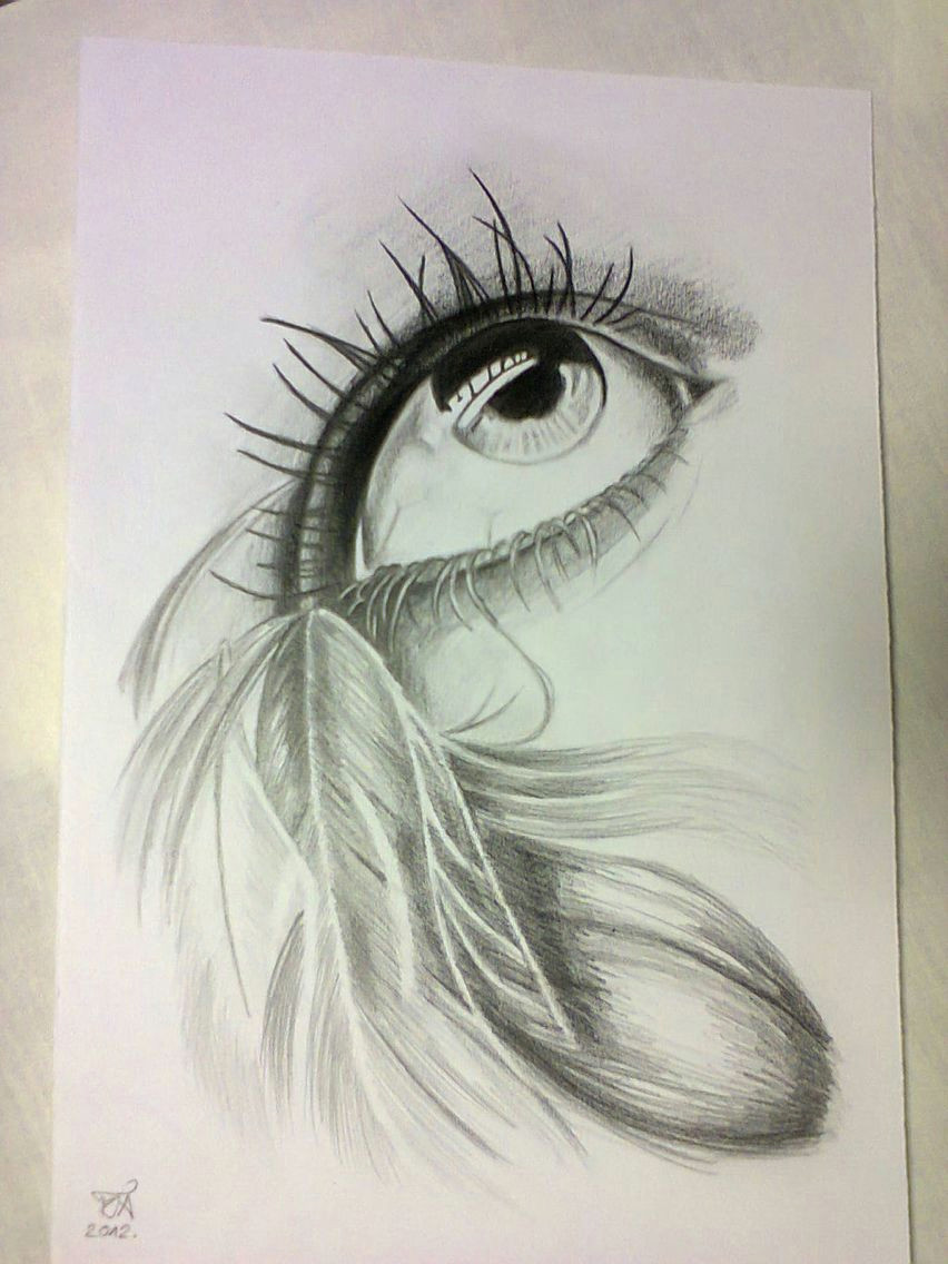 drawings in pencil the eyes are the windows to your soul